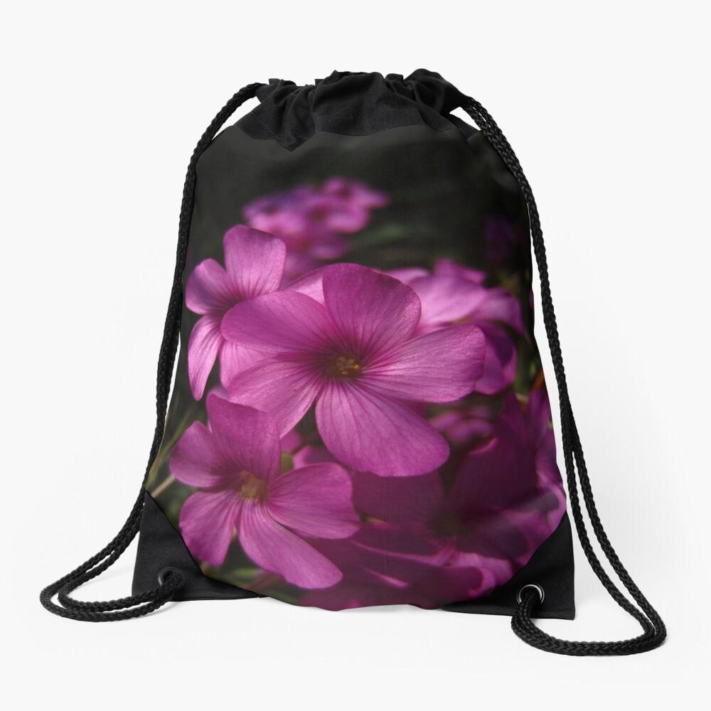 Pink-Sorrel Drawstring Bag