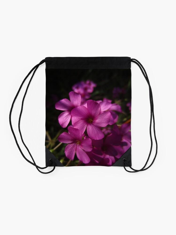 Alternate view of Pink-Sorrel Drawstring Bag