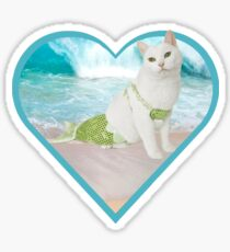 Kitty Stickers: Mermeow Sticker