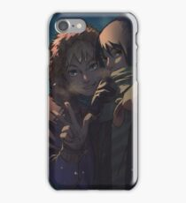 Evening of the first snow. iPhone Case/Skin