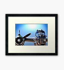 "MITCHELL B-25 MEDIUM BOMBER ""Panchito"" Framed Print"