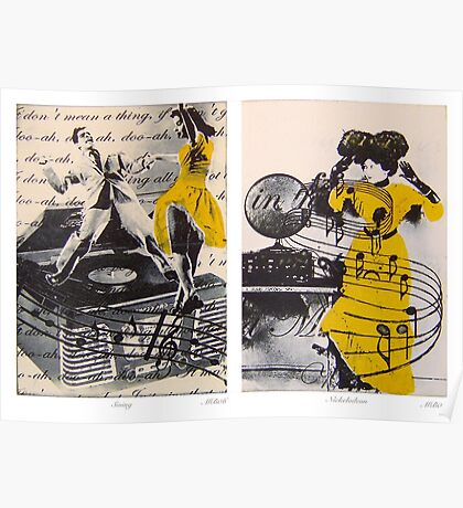 Dance Diptych Poster