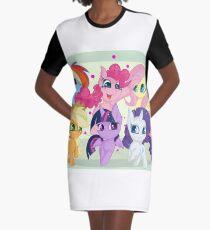 Mane six mlp Graphic T-Shirt Dress