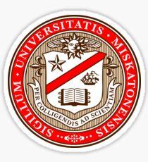 Miskatonic University Seal, Color Sticker
