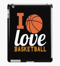 I Love Basket Ball iPad Case/Skin