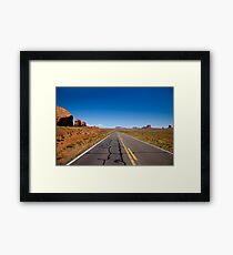 The Road to Monument Valley Framed Print