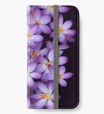 Crocus iPhone Wallet/Case/Skin