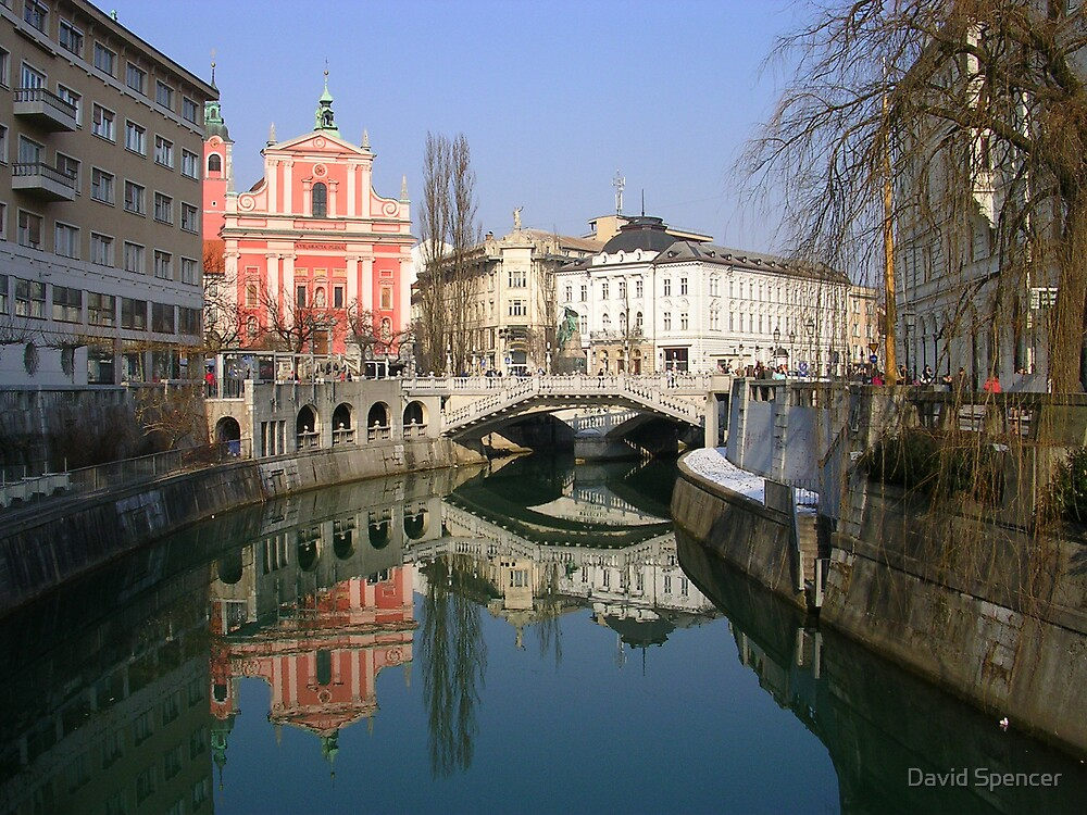 Ljubljana by David Spencer