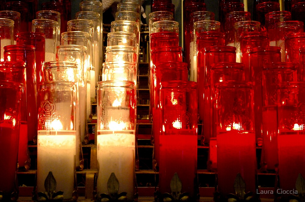 candle light by Laura  Cioccia