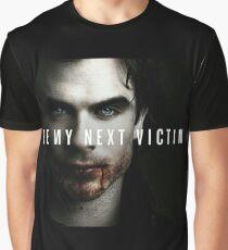 Ian Somerhalder The Vampire Diaries  Graphic T-Shirt