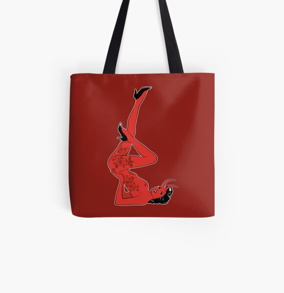 Hell Rock Star All Over Print Tote Bag