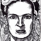 'Frida Kahlo' by Jerry Kirk