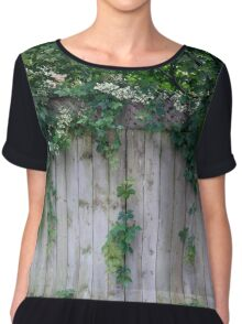 The Green Can Never Be Blocked Chiffon Top