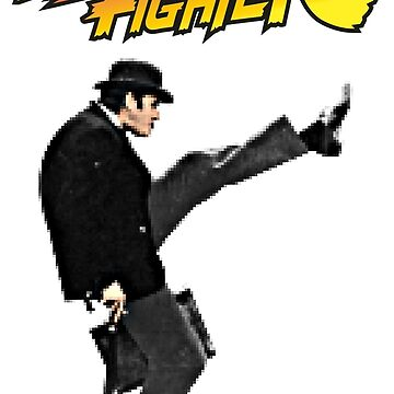 Silly Fighter - Monty Pythons by irideocrea