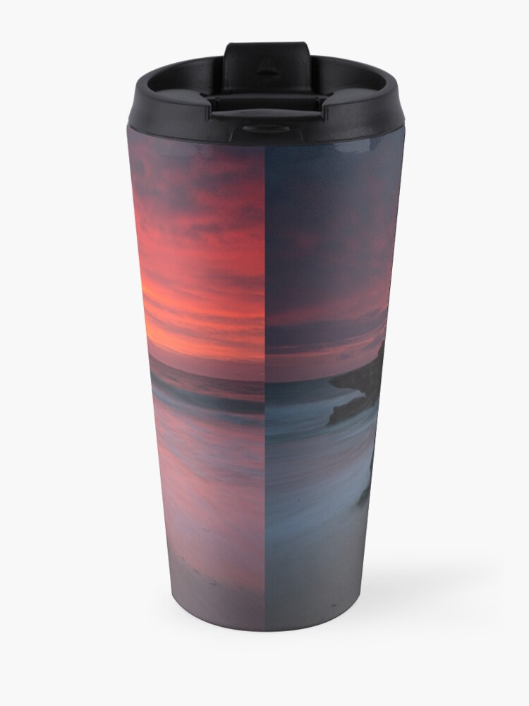 Alternate view of Trigg Beach Sunset Travel Mug