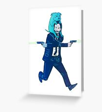 John Wick Greeting Card