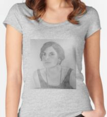 Mary Crawley - Downton Abbey Women's Fitted Scoop T-Shirt