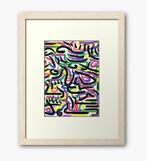 1510 - kNoW Framed Print