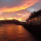 Portree Harbour Sunrise by jmnicolson