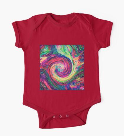 Swirl hook #Digital #Art Kids Clothes