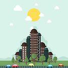Future city by Aleksander1