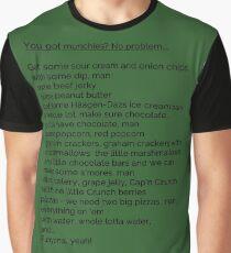 Who's got munchies? Graphic T-Shirt