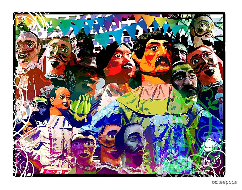 higantes festival by oskeepops