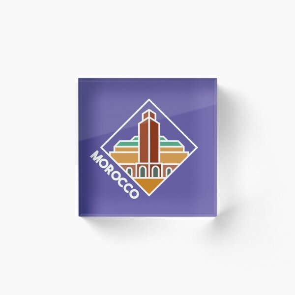 Morocco Acrylic Block