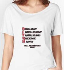 CALL ME A BITCH Women's Relaxed Fit T-Shirt