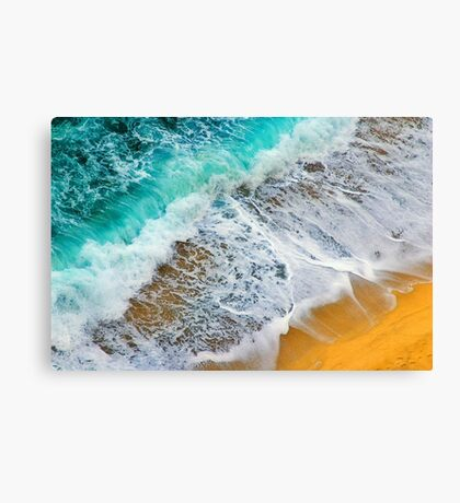 Waves abstract Canvas Print