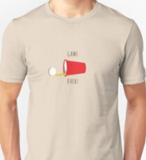 Beer Pong, Game Over T-Shirt