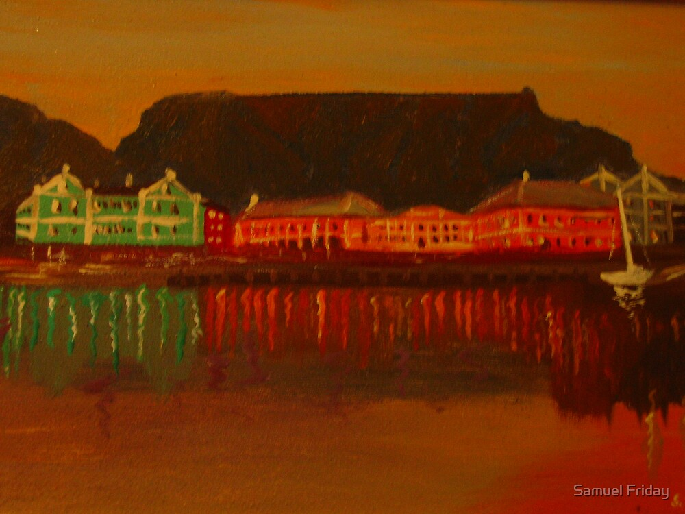 water front 'Die kaap' by Samuel Friday