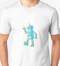 cartoon toy robot. Unisex T-Shirt