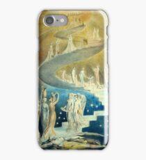 William Blake Jacob's Ladder iPhone Case/Skin