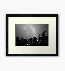 Urban Storm Framed Print
