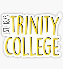 Trinity College Sticker
