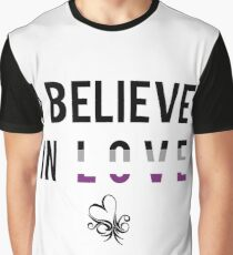 I Believe In Love (Asexual) Graphic T-Shirt