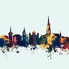 Bern Switzerland Skyline by Michael Tompsett