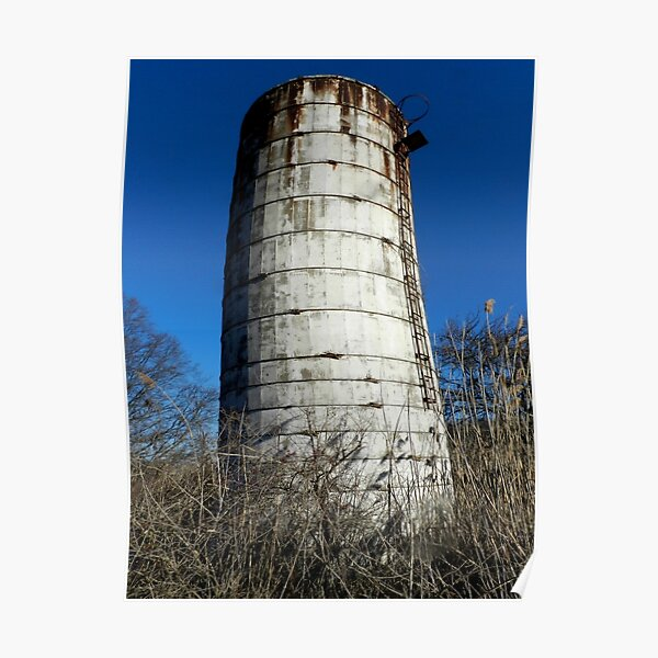 Old silo 2 Poster