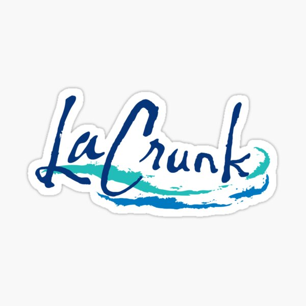 La Crunk Sticker