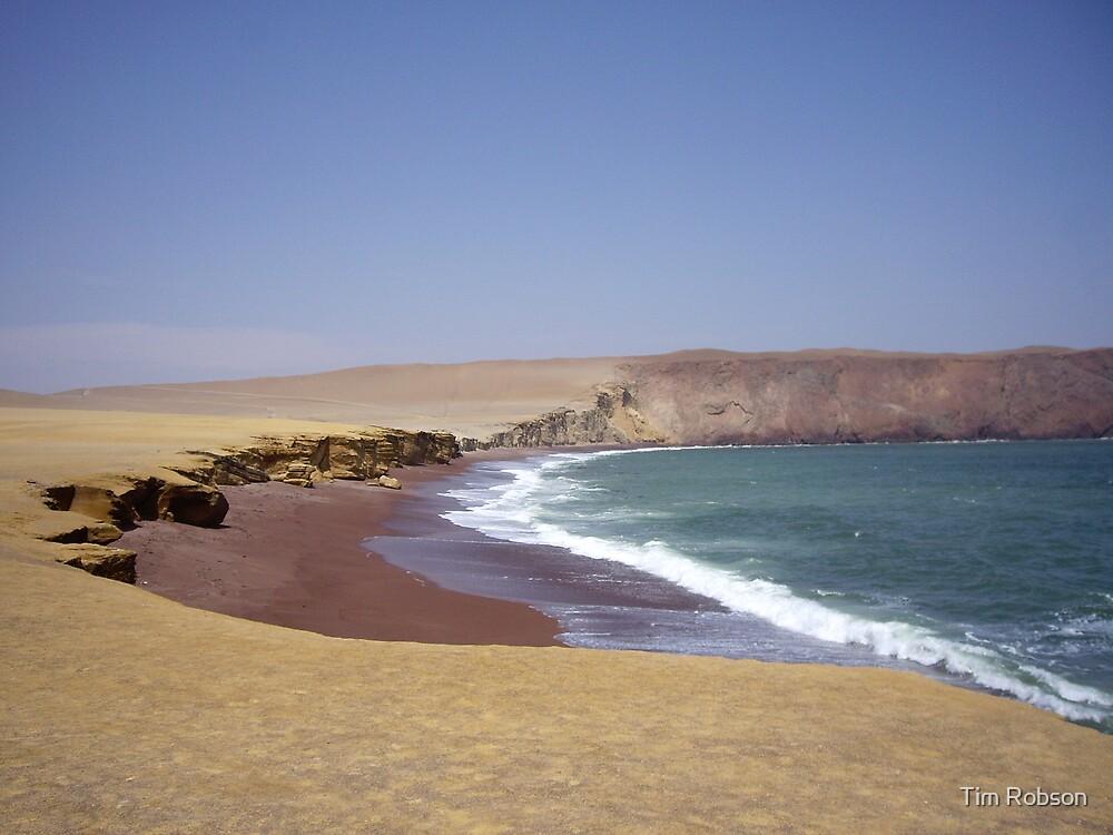 Red Beach, Pisco, Peru by Tim Robson