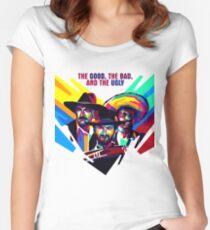 il buono, il brutto, il cattivo Women's Fitted Scoop T-Shirt