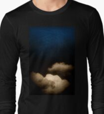 Clouds in a scratched darkness Long Sleeve T-Shirt