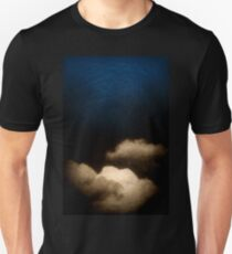 Clouds in a scratched darkness Unisex T-Shirt