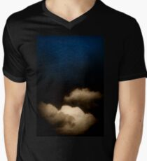 Clouds in a scratched darkness Men's V-Neck T-Shirt