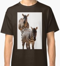 couple of zebra Classic T-Shirt