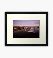 Newcastle Ocean Baths 6 Framed Print