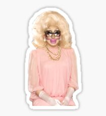 Trixie Mattel but she sort of looks like a lizard Sticker