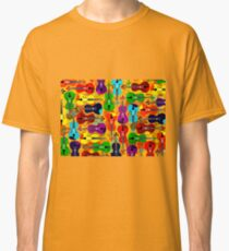 VIOLINS ALL OVER Classic T-Shirt