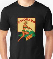 pin up monroe colorado pikes peak T-Shirt